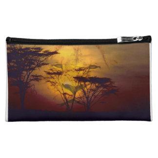 Lion African Sunset Makeup Bags