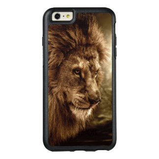 Lion against stormy sky OtterBox iPhone 6/6s plus case