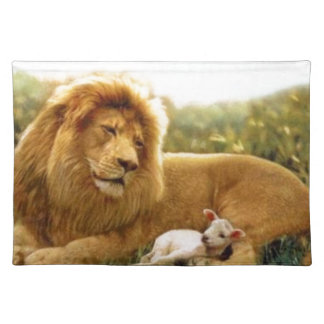 Lion and Lamb Placemat