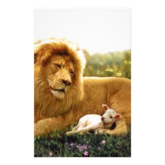Lion and Lamb Stationery