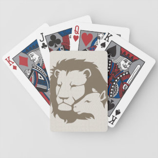 Lion and The Lamb Bicycle Playing Cards