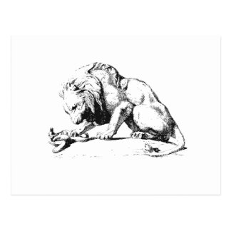 Lion And The Serpent Postcard
