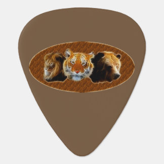 Lion And Tiger And Bear Plectrum
