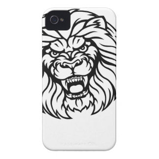 Lion Angry Esports Mascot Case-Mate iPhone 4 Case