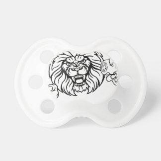 Lion Angry Esports Mascot Dummy