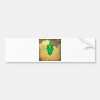 Lion Art Design Bumper Sticker