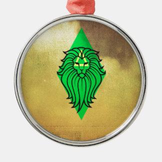 Lion Art Design Metal Ornament