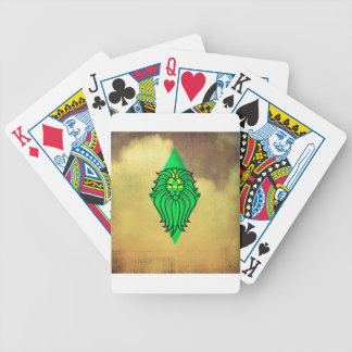 Lion Art Design Poker Deck