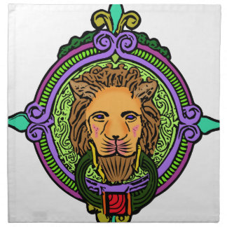 Lion Art exclusive Napkin
