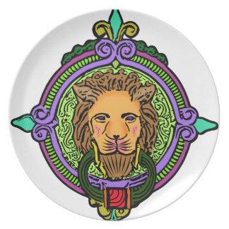 Lion Art exclusive Plate