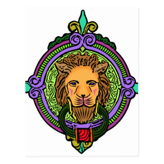 Lion Art exclusive Postcard