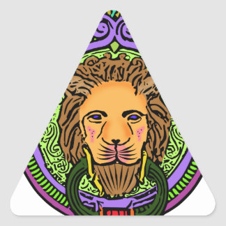 Lion Art exclusive Triangle Sticker