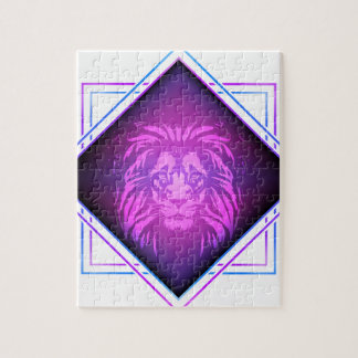 Lion art jigsaw puzzle