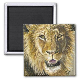 Lion Art Refrigerator Magnet