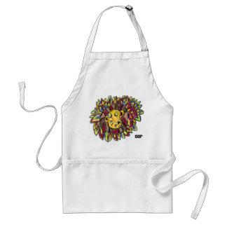 lion art one standard apron