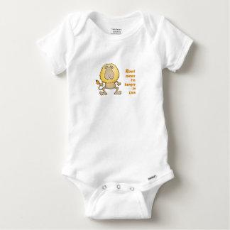 Lion baby baby onesie