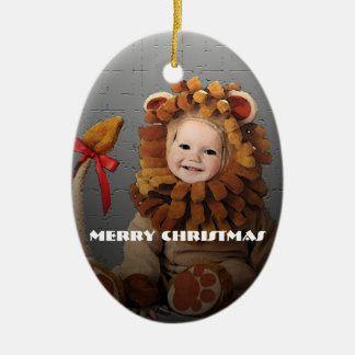 Lion Baby Christmas Ornament