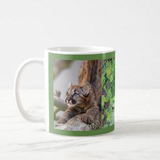 lion baby mommy and grape vines coffee mug