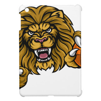 Lion Basketball Ball Sports Mascot iPad Mini Case