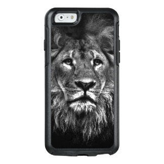 Lion Black and White OtterBox iPhone 6/6s Case