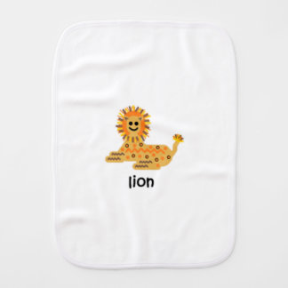 Lion Burp Cloth
