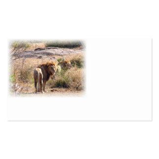 Lion business card 1