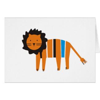 Lion, Card