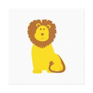 Lion cartoon canvas prints