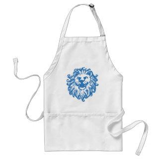 Lion Champ 2 Blue Standard Apron