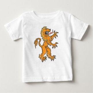 Lion Creature Sketch Vector Baby T-Shirt