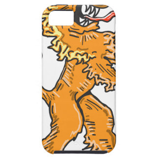 Lion Creature Sketch Vector iPhone 5 Covers