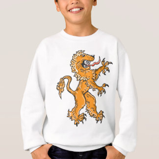 Lion Creature Sketch Vector Sweatshirt