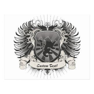 Lion Crest Postcard