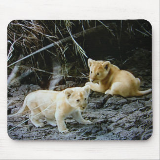 """""""LION CUB BROTHERS HANG OUT"""" MOUSE PAD"""
