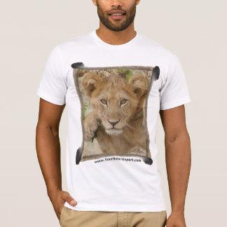 Lion  Cub T-Shirt with Lion Tail Frame
