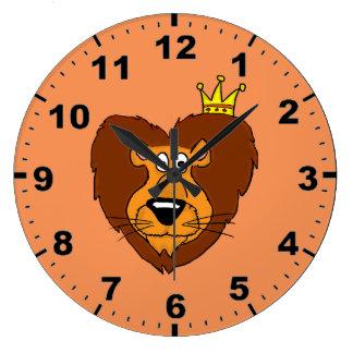 Lion design wrist watches wall clocks