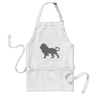 lion dots standard apron