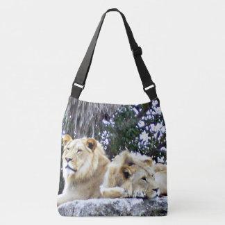 Lion Duo Tote Bag