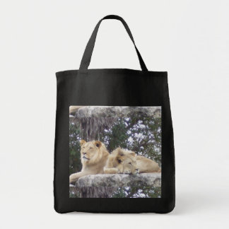 Lion Duo Tote Bag