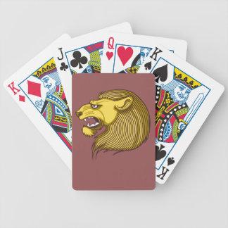 Lion Emblem Poker Deck