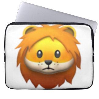 Lion - Emoji Laptop Sleeve