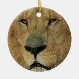 Lion Face Ornament