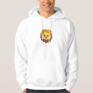 Lion Face Emoji Hoodie