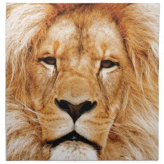 lion face yeah napkin