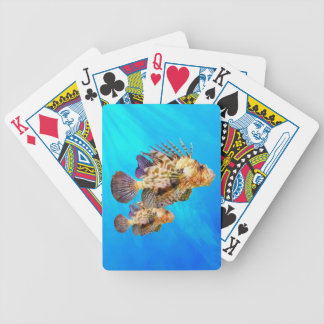 Lion Fish Bicycle Playing Cards