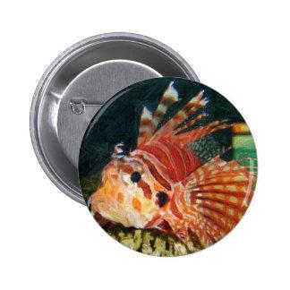 lion fish pencil pin