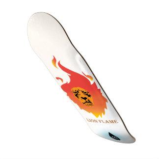 Lion Flame Skate board