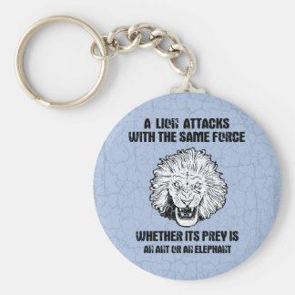 Lion Force Key Ring