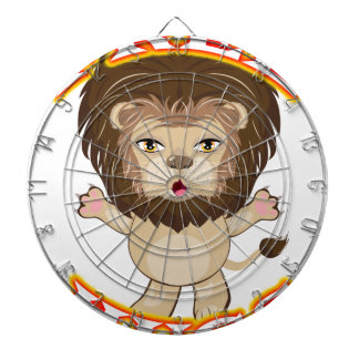 Lion Free Hugs Dartboard