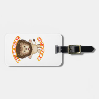 Lion Free Hugs Luggage Tag